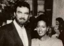 "Alesia with Tom Selleck in ""Her Alibi"""