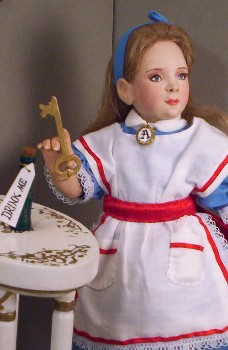 Alice doll made in America by Alesia