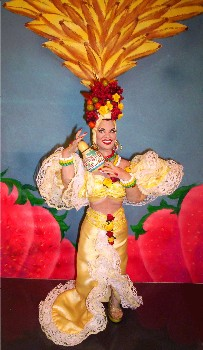 Carmen Miranda doll made in America
