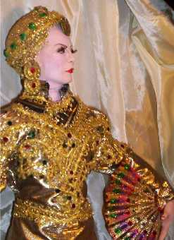 "Garbo doll as ""Mata Hari"" by Alesia"
