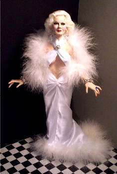 Jean Harlow doll made in America