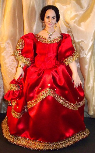 Olivia DeHavilland doll made in the USA made in America