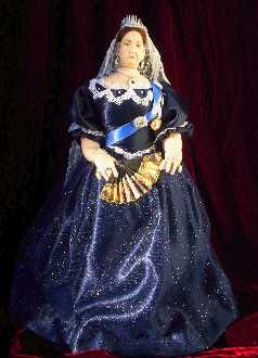 Young Queen Victoria doll by Alesia