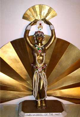 "Coco figurine by Alesia ""Sun Goddess of the Nile"""